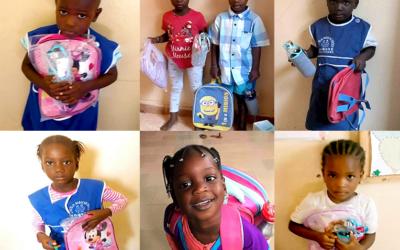 Les Kits de rentrée sont arrivés dans les écoles de Somone !