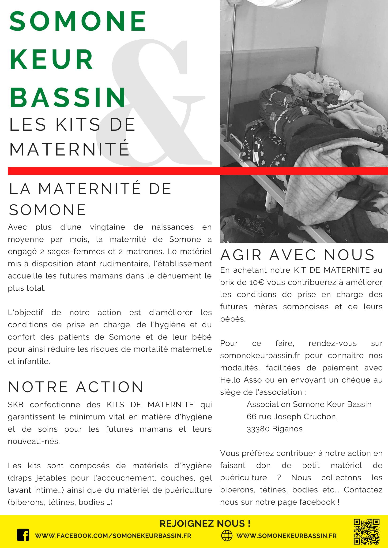 SKB kit maternite 6 3 1 - Association Somone Keur Bassin